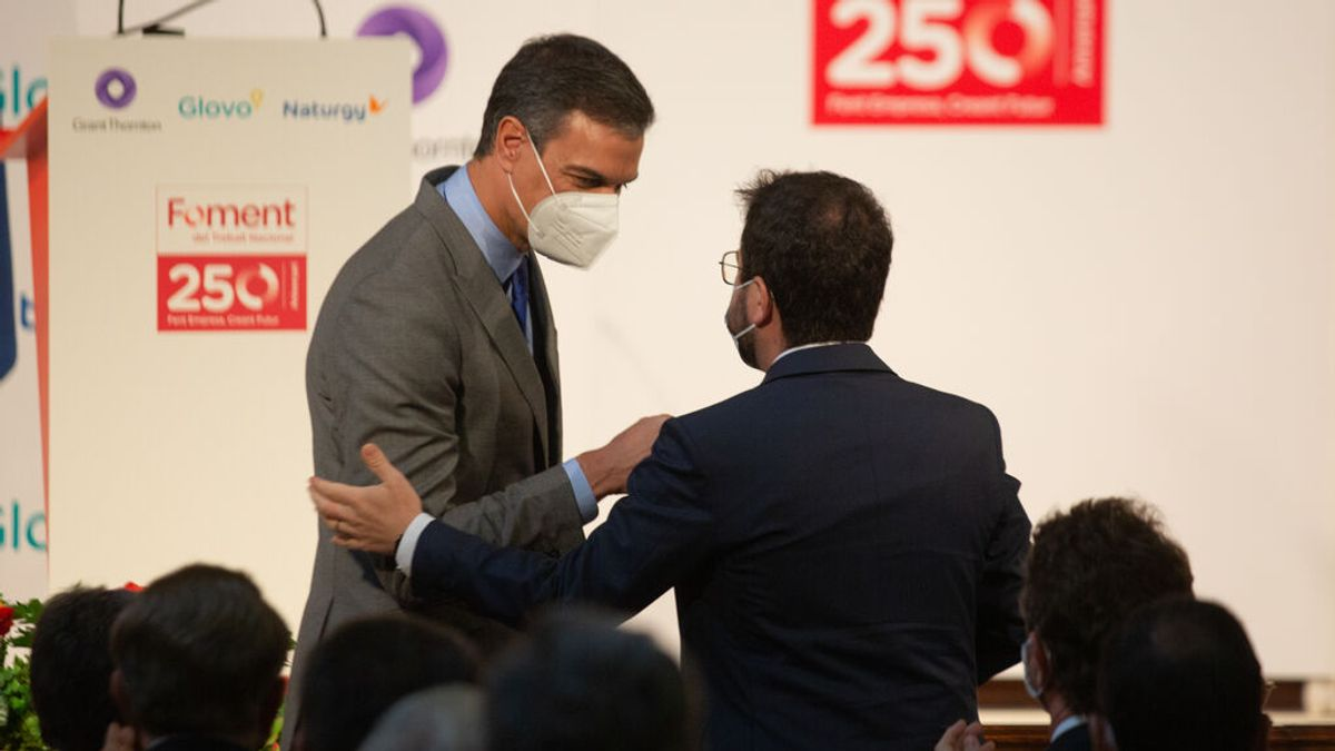 Sánchez y Aragonès, president de Cataluña, se reunirán el 29 de junio en la Moncloa