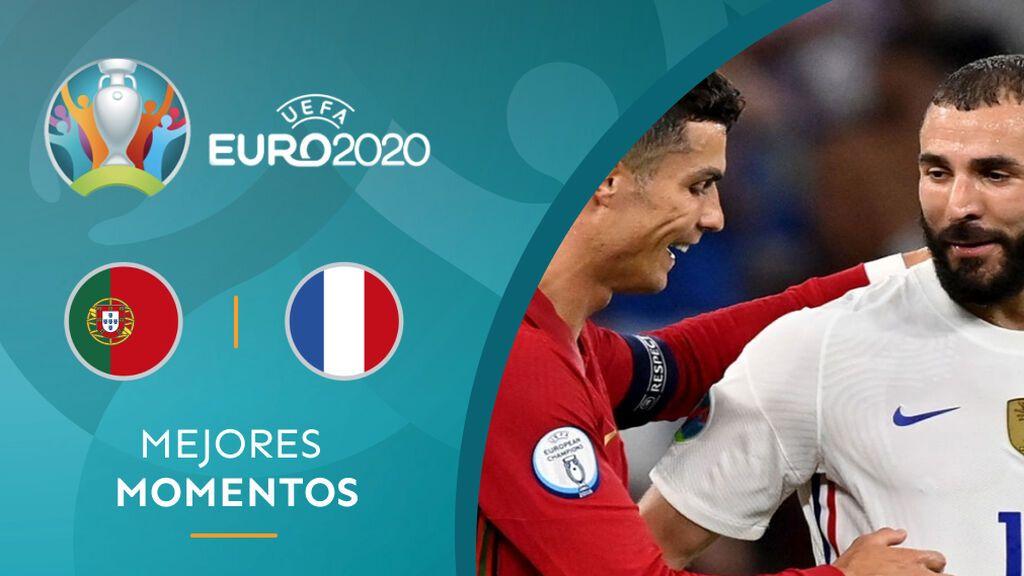 Portugal y Francia empatan en un partidazo y se clasifican para octavos de la Eurocopa (2-2)