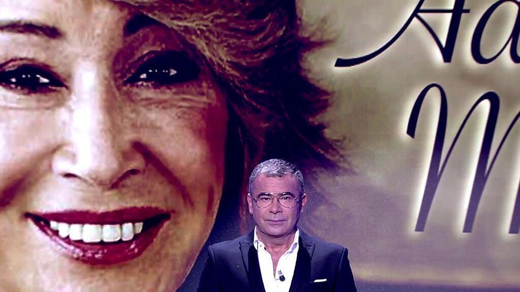 Jorge Javier Vázquez, en el plató de 'Sálvame'