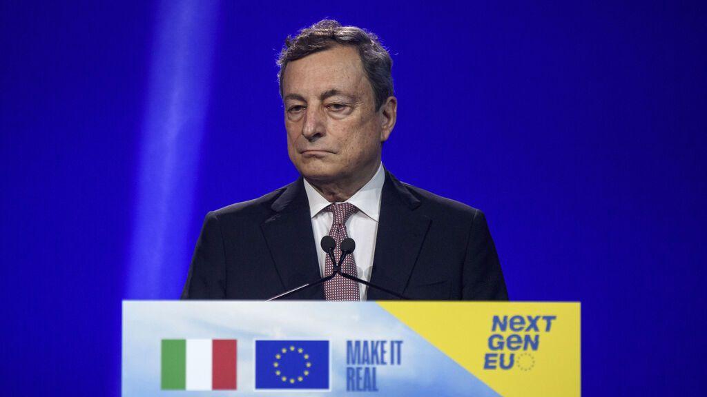 Mario Draghi teme un nuevo flujo de migrantes tras la salida de las tropas de la OTAN de Afganistán