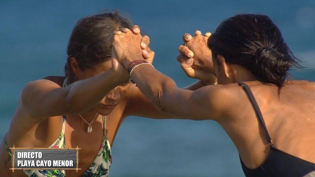 Melyssa y Olga se clasifican para la final del juego de líder