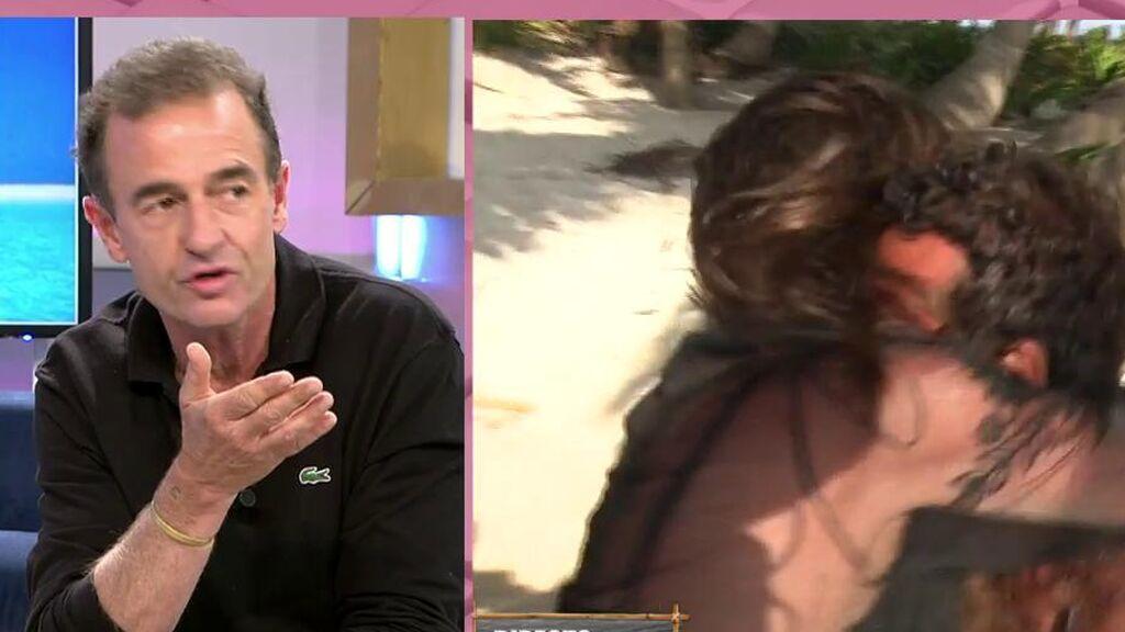"""La sorprendente reacción de Lequio tras el reencuentro de Omar y Anabel Pantoja: """"Les faltó pasión"""""""