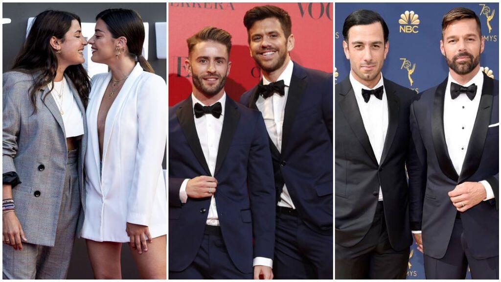 Bodas homosexuales de nuestros famosos más románticas: de Dulceida y Alba a Ricky Martin y Jwan Yosef.