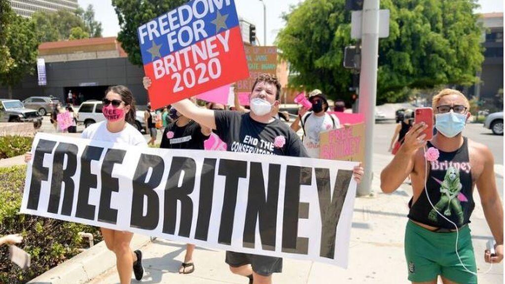 El movimiento FreeBritney creado por sus fans para apoyar la libertad de la cantante de la tutela de su padre