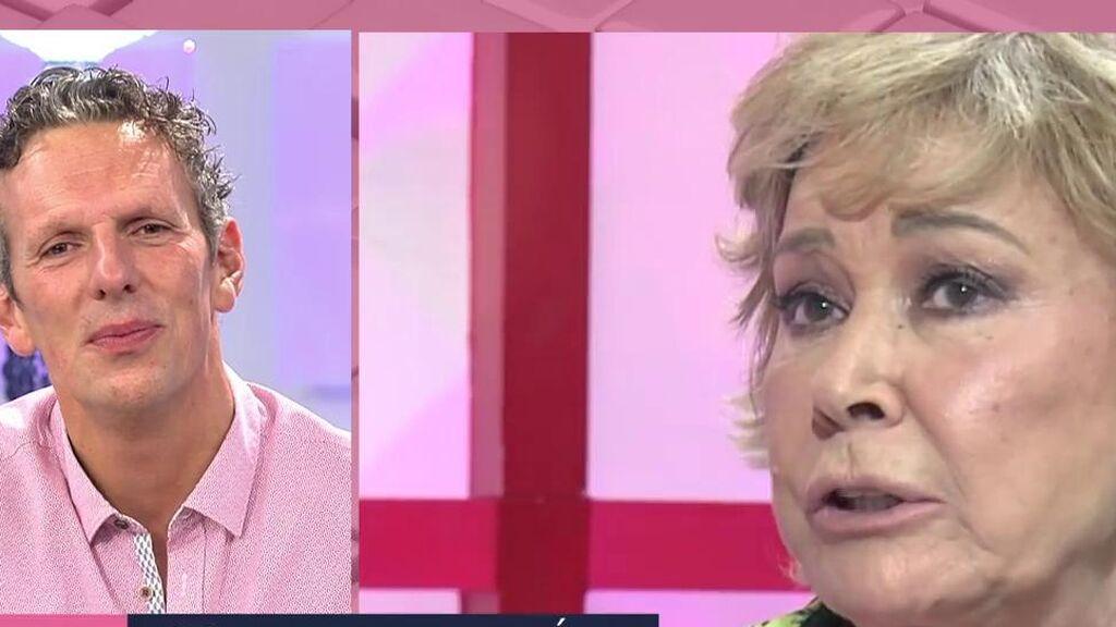 "Joaquín Prat se emociona tras la muerte de Mila Ximénez: ""Que la tierra te sea leve. Te queremos"""