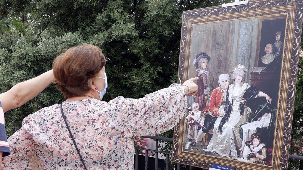 """Los vecinos de un pueblo de Granada ponen rostro a grandes obras de Velázquez o Goya: """"Me siento importante"""""""