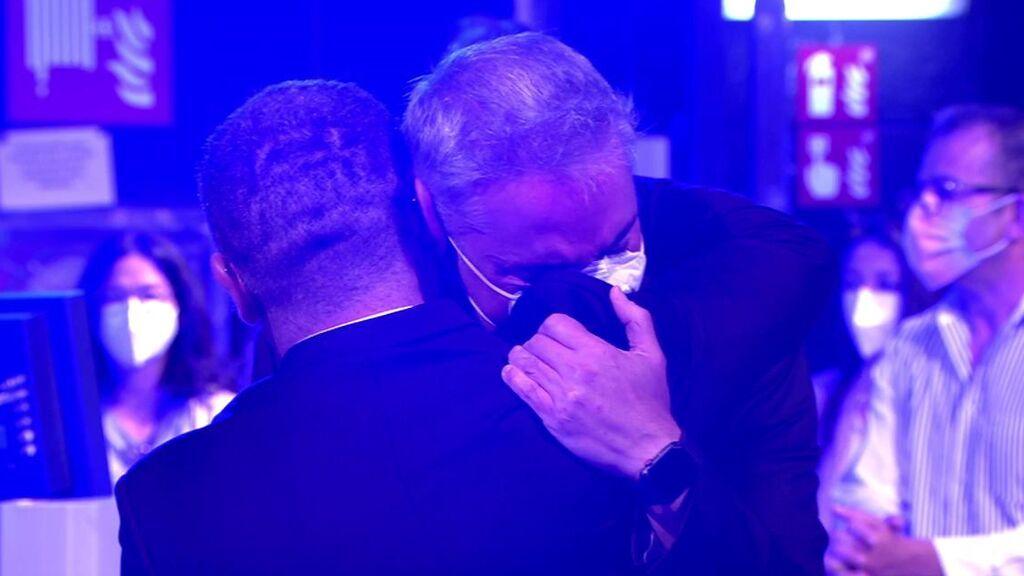 El abrazo de Kiko Hernández y Jorge Javier Vázquez