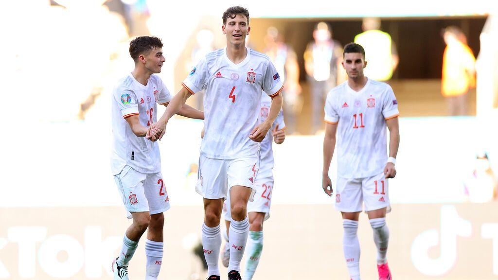 España se descorcha y firma la manita ante Eslovaquia (0-5)