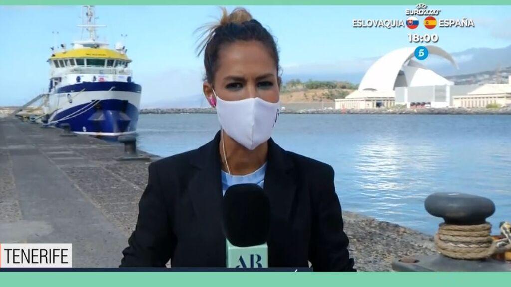 Parón en la investigación sobre el mar de Tenerife: el buque vuelve a puerto