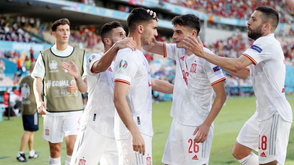 Llegar y besar el santo: Ferrán Torres marca al minuto de salir para hacer el 0-4