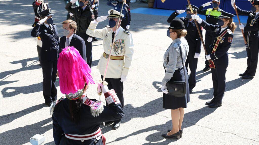 Acto de la festividad de San Juan Bautista, patrón de la Policía Municipal de Madrid