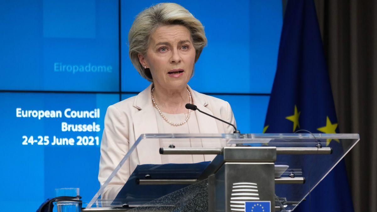 Cumbre UE.- Von der Leyen pide a los países de la UE no bajar la guardia ante la variante delta dominante en Reino Unido