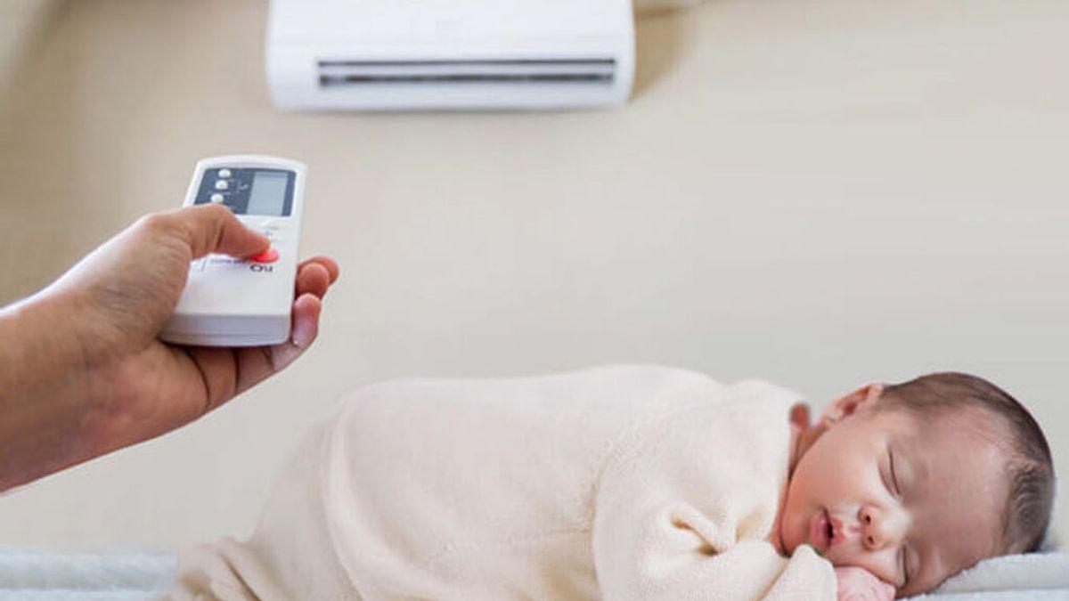 ¿Cómo afecta el aire acondicionado a los bebés? Los tips para evitar un golpe de calor y los cambios bruscos de temperatura.