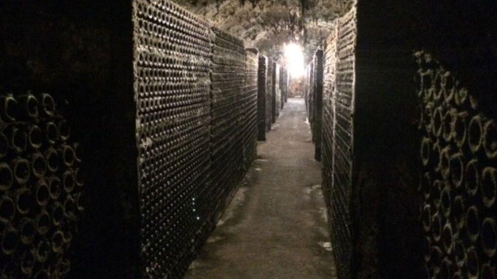 Cementerio de botellas Cune