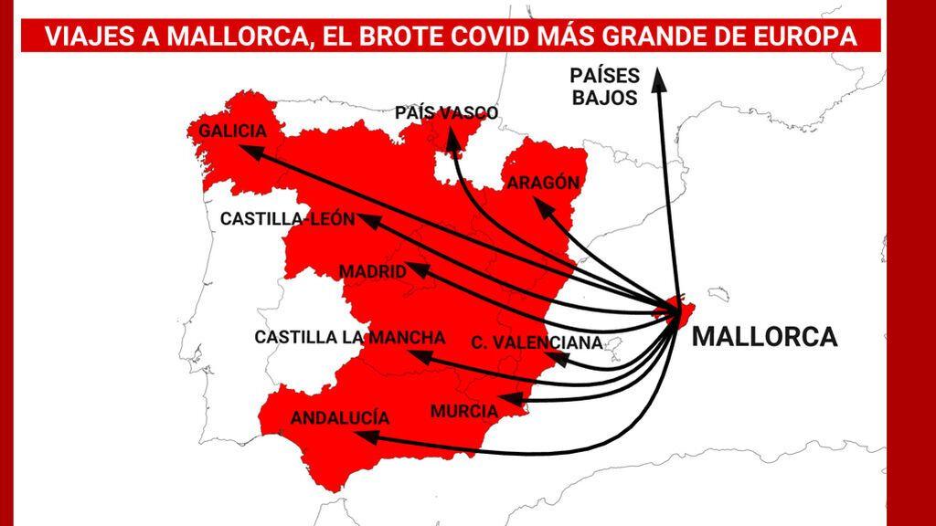Alcohol, virus y reguetón: radiografía del macrobrote en Mallorca con repercusiones a escala europea