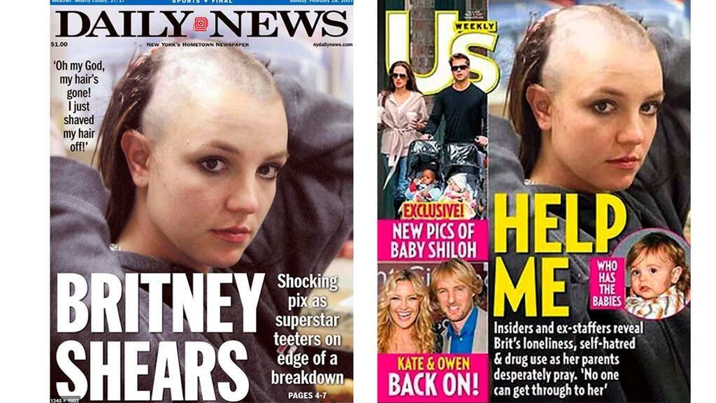 Britney Spears, en las revistas de la época