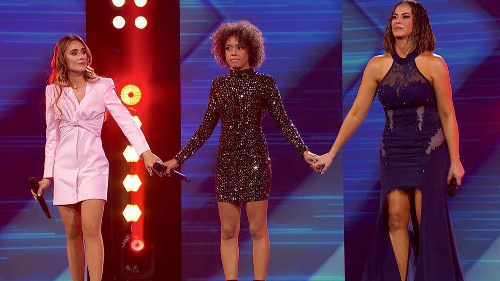 Las actuaciones de la ronda final: Nalaya, Sislena y Verónica