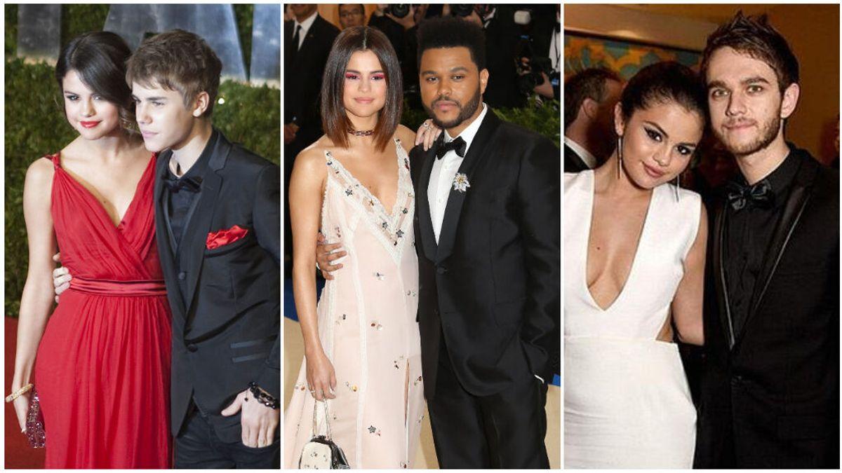 Estos son los hombres que han pasado por el corazón de Selena Gómez: desde Justin Bieber hasta DJ Zedd.