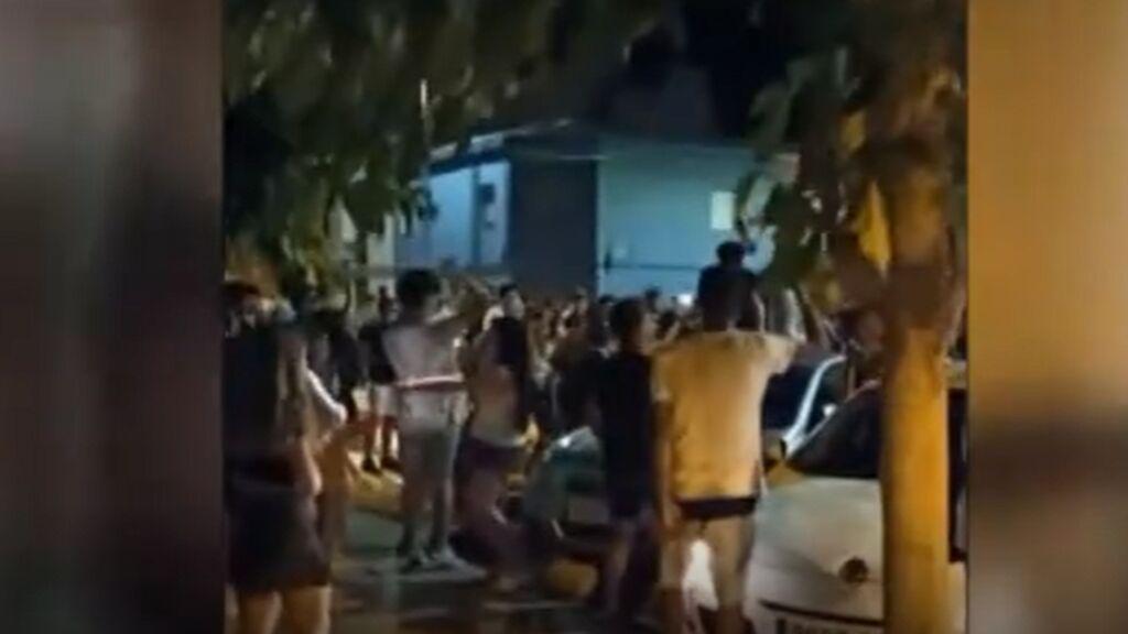 Sin hogueras en San Juan, pero con demasiada fiesta