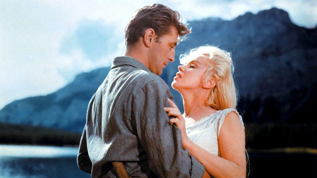 En 1954 con Marilyn Monroe