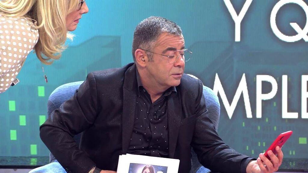 Jorge Javier Vázquez y Belén Rodríguez alucinan con los mensajes