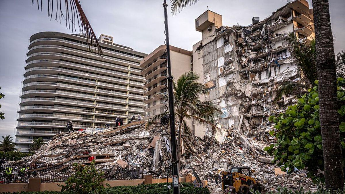 Un informe de 2018 revelaba daños estructurales en el edificio derrumbado en Miami, que ha dejado ya 4 muertos