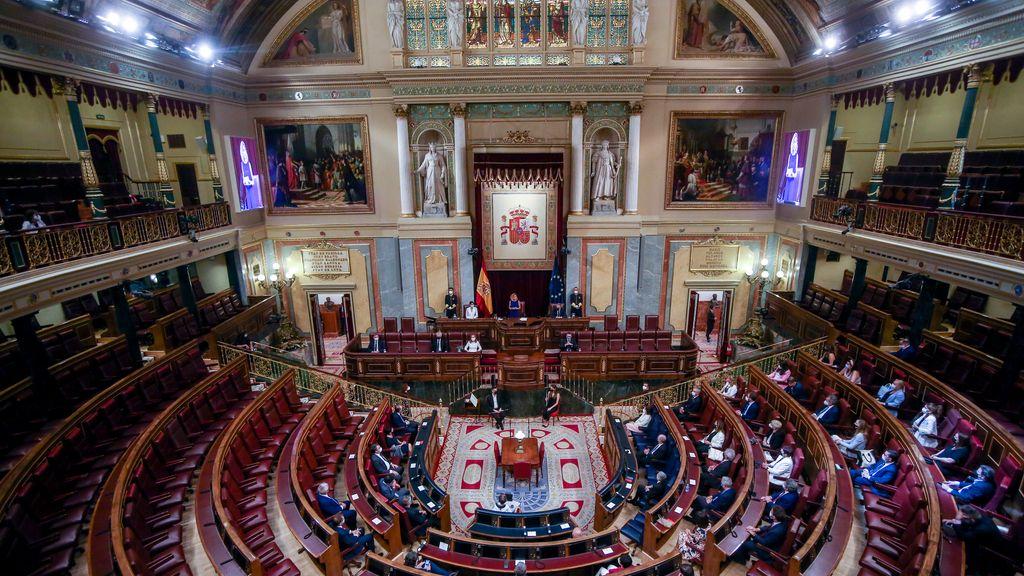 El Congreso rinde tributo a las víctimas del terrorismo con una limitada presencia del PP y sin Vox