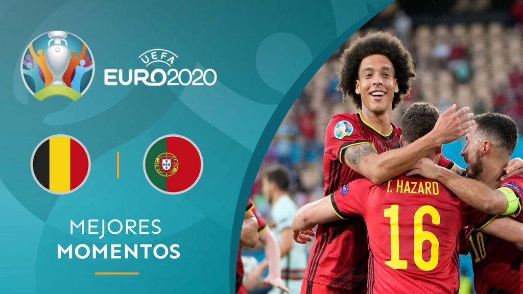 Bélgica vence a Portugal con gol de Thorgan Hazard y deja a la vigente campeona fuera de la Eurocopa (1-0)