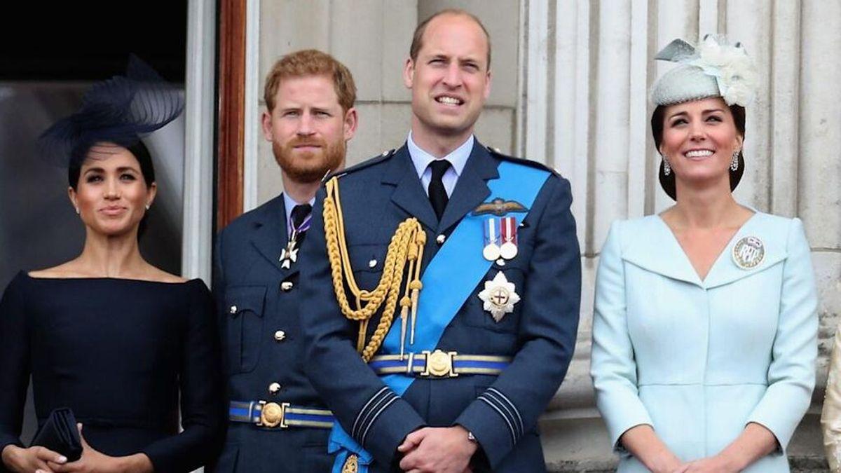 """El príncipe Guillermo se refirió a Meghan Markle como """"esa maldita mujer"""" en el funeral de su abuelo"""