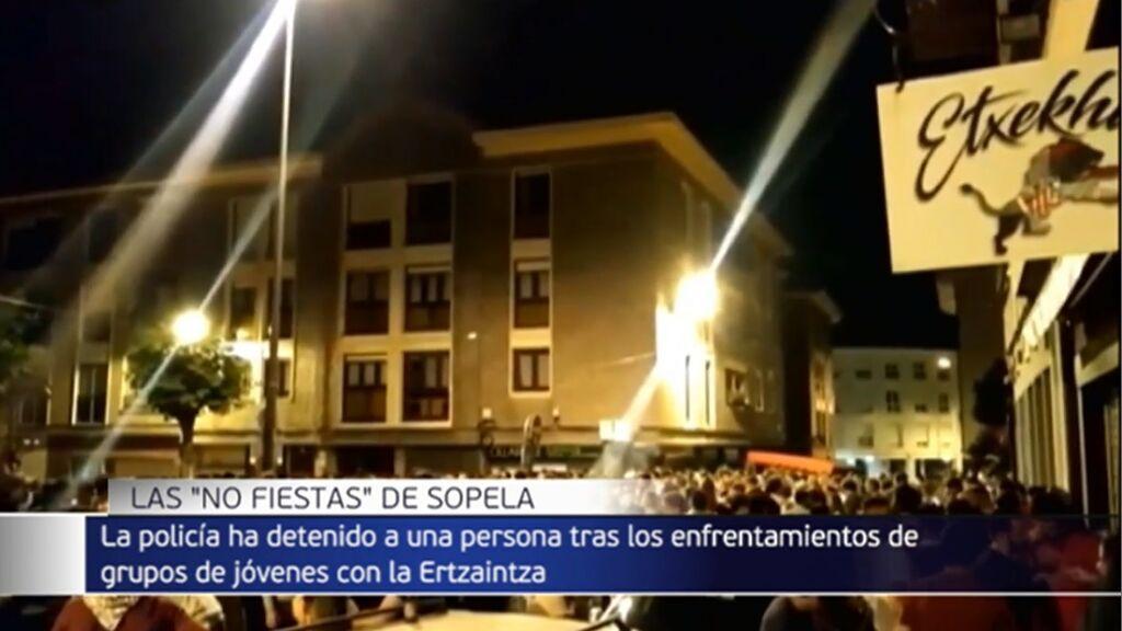 Las 'no fiestas' de Sopela, en Vizcaya, con cientos de personas sin cumplir las normas, dejan un detenido