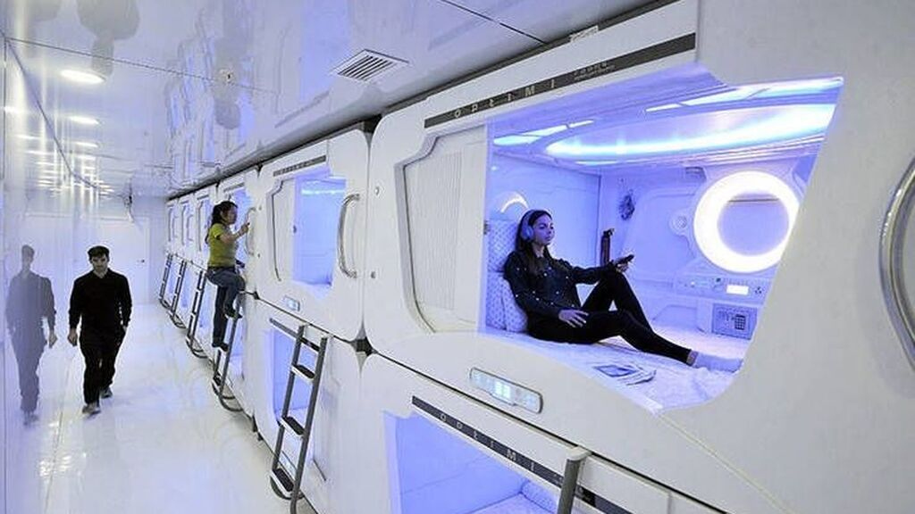 Habitaciones diminutas para una sola persona. Así es el hotel colmena que va a instalarse en España