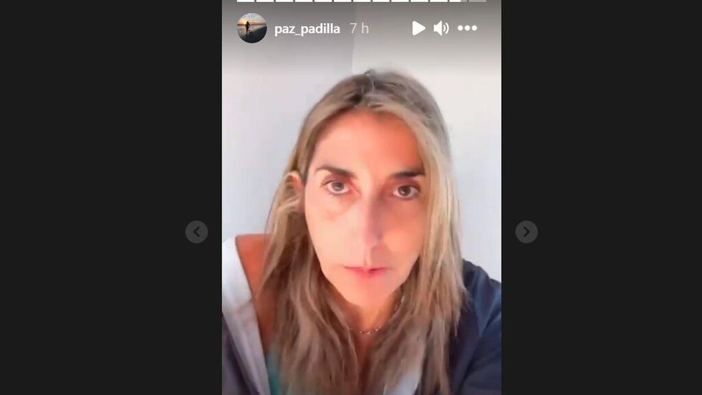 Paz Padilla explica su postura sobre la biodescodificación