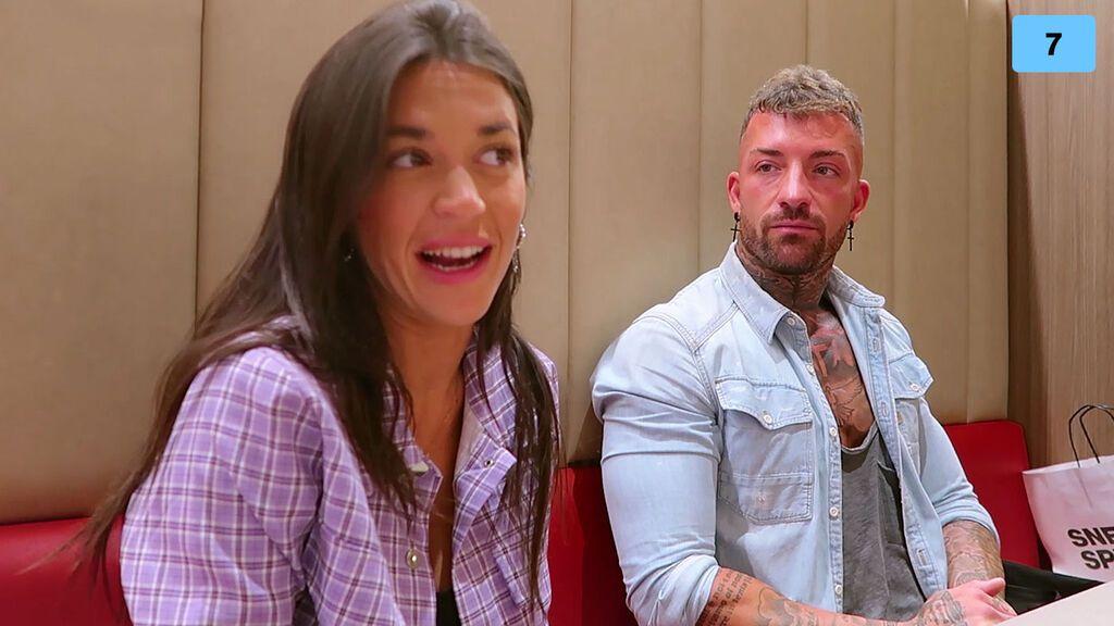 Rubén Sánchez y su novia quedan con Fiama y se sinceran sobre su relación (2/2)