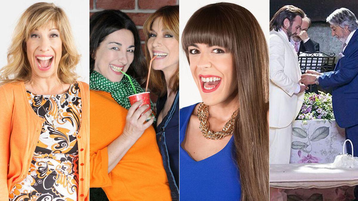 Orgullo 'La que se avecina': Berta, Araceli, Vicente, Fermín o Alba Recio, los personajes más LGTBIQ+ de Montepinar