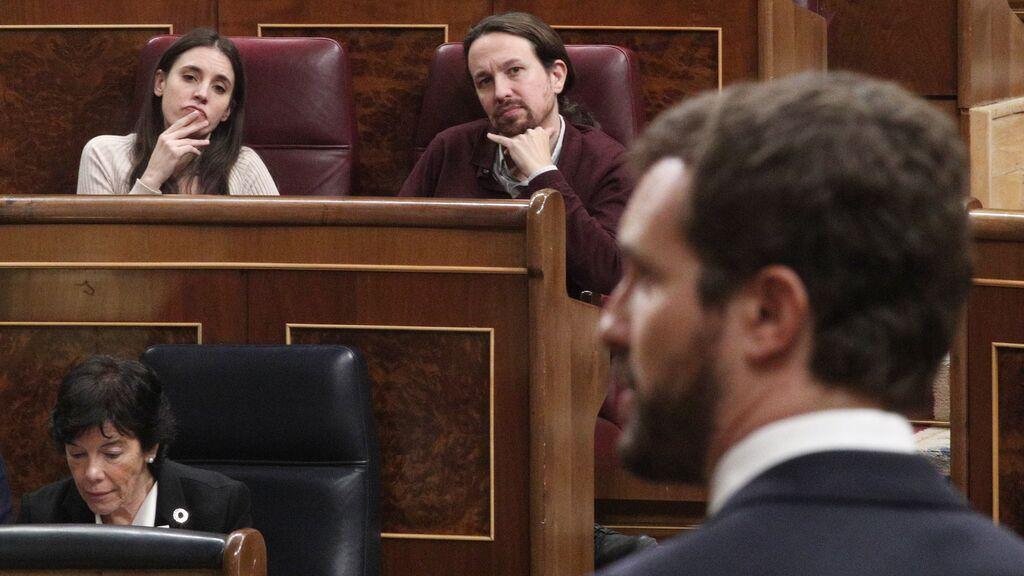Casado copia a Ayuso y dice que Montero es ministra por 'ser mujer de' y esta le responde: ¿Y tú?