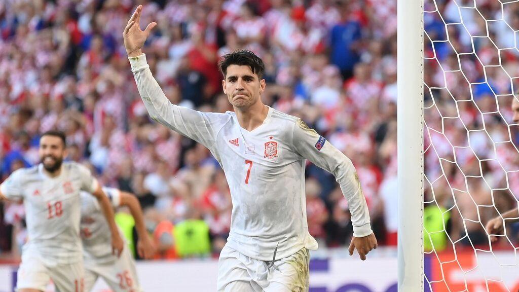 Tenía que ser Morata: Golazo de España en la prórroga (3-4)