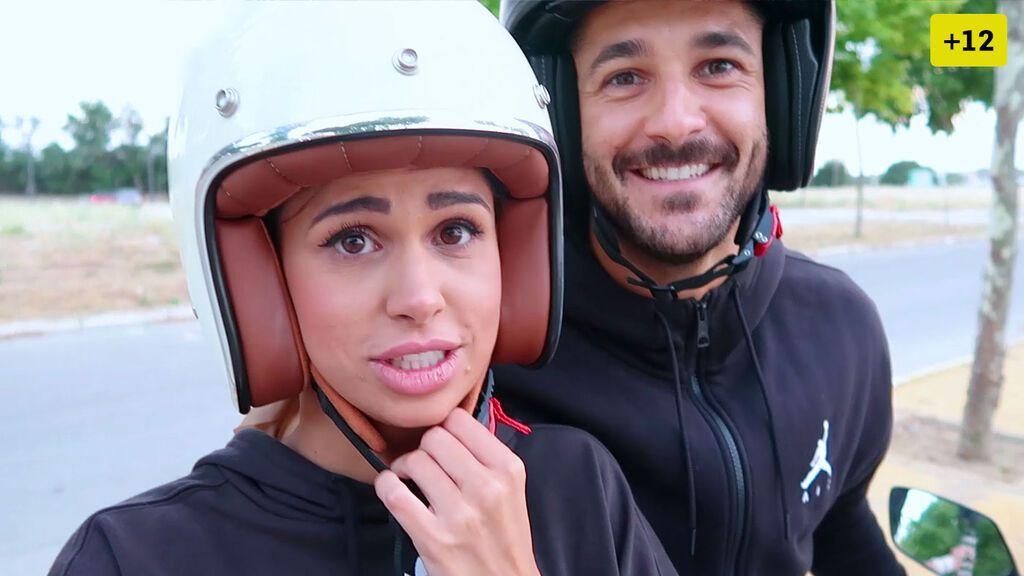 Marina Ruiz y Hugo Paz sellan su amor con un tatuaje en común y se compran una moto (1/2)