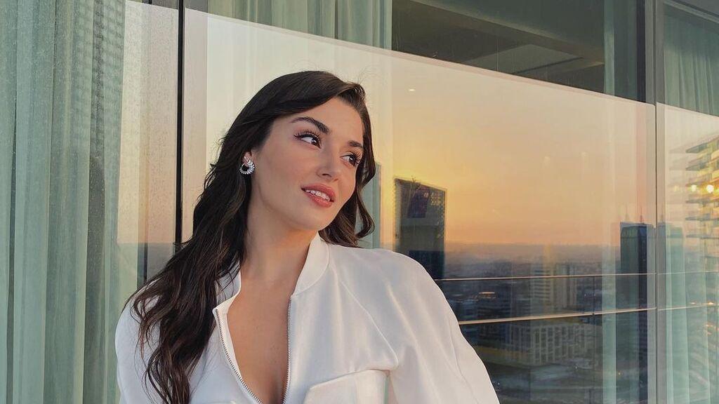 Hande Erçel es Eda, en 'Love is in the air'