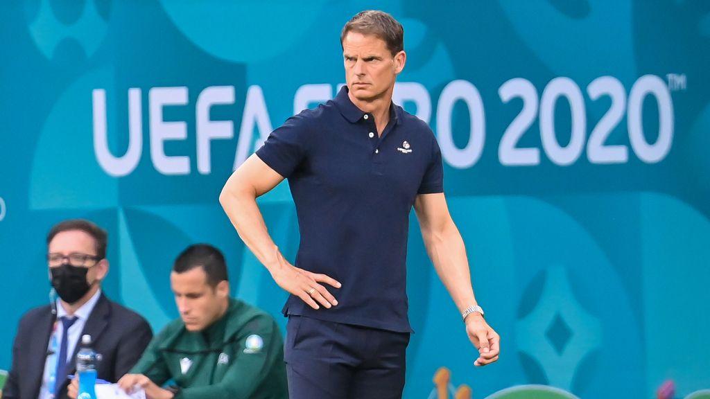 Fútbol/Euro.- Frank de Boer dimite tras la eliminación de Países Bajos
