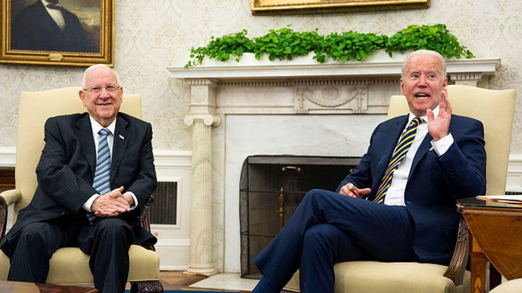 """Biden expresa a Rivlin su """"apoyo inquebrantable"""" a la autodefensa de Israel"""