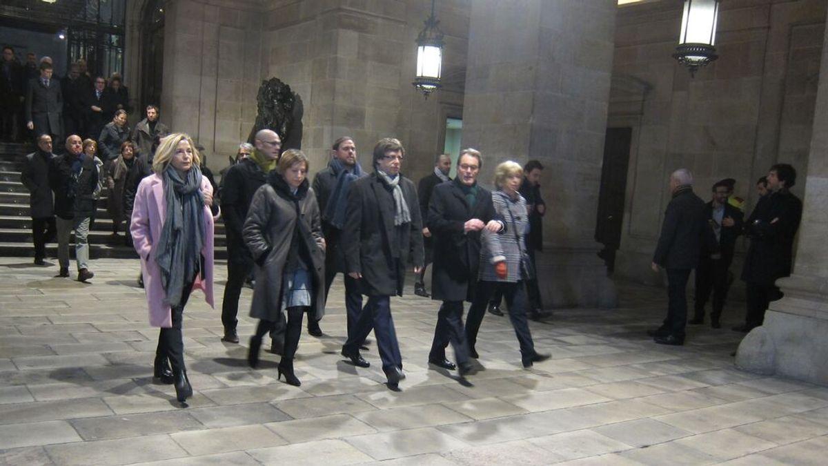 El Tribunal de Cuentas pide 5,4 millones de euros a los líderes del 'procés'
