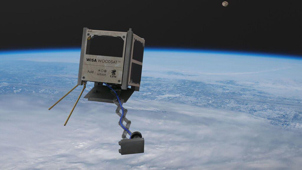A finales de este año se lanzará el primer satélite de madera del mundo: ¿resistirá al espacio?