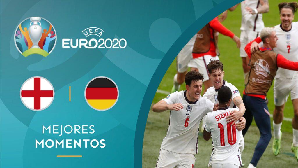 Sterling y Kane meten a Inglaterra en cuartos y manda a Alemania para casa (2-0)