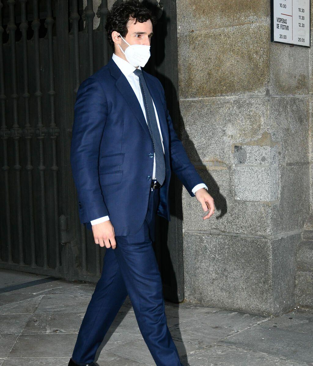 Íñigo Onieva, novio de Tamara, nunca pudo conocer al marqués de Griñón