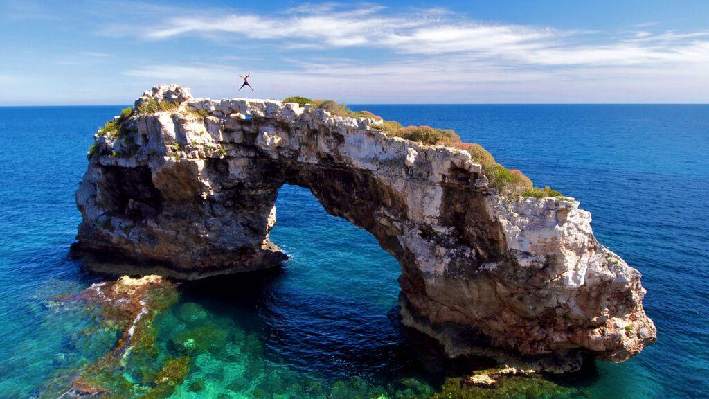 Es Pontàs es pot visitar a Cala Santanyí