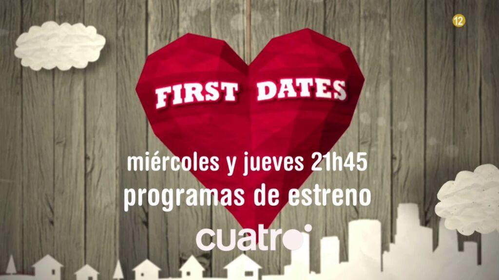 Vive todas las caras del amor con los programas de estreno de 'First dates', este miércoles y jueves en Cuatro