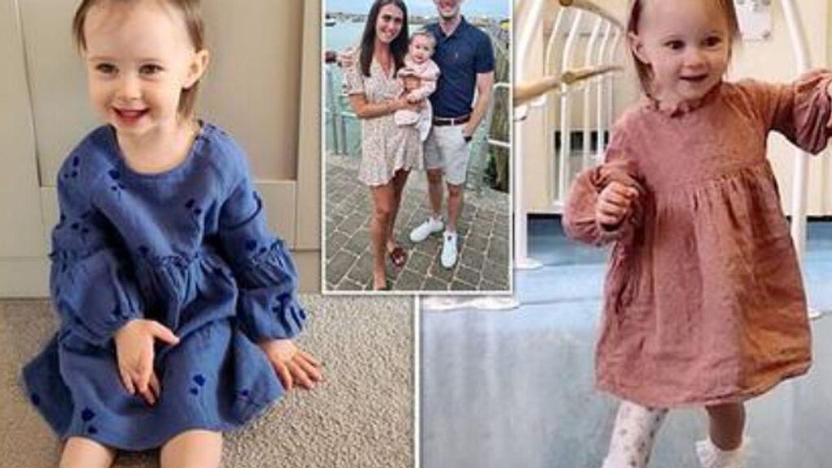 Los primeros pasos de Willow con su prótesis tras perder su pie por hemimelia fibular se vuelven virales
