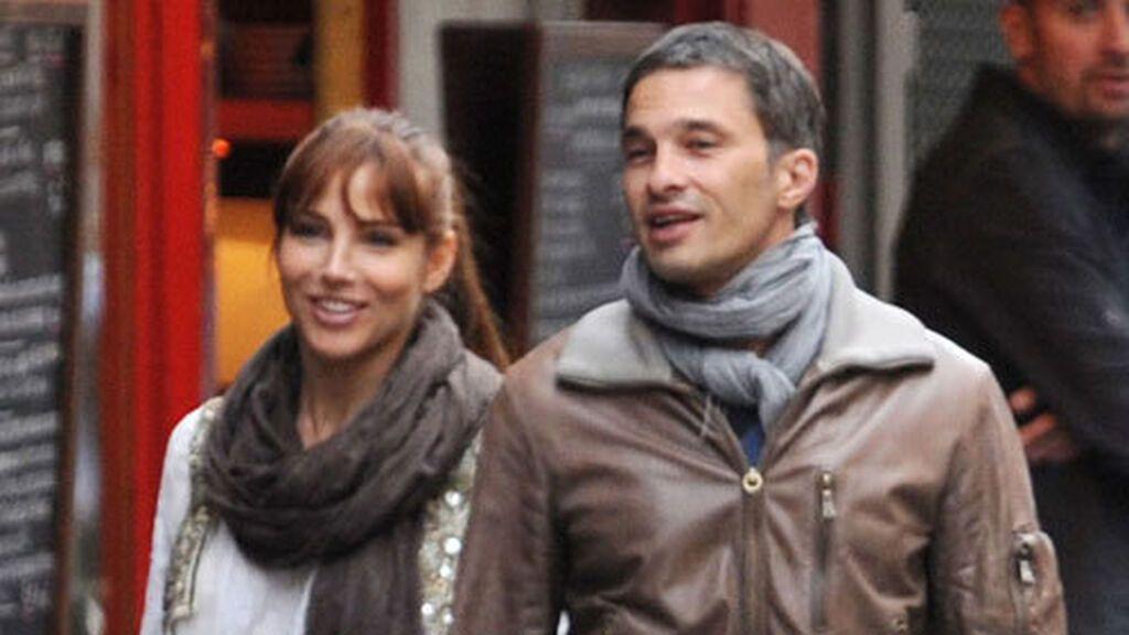 También, mantuvo un corto idilio con Olivier Martínez.