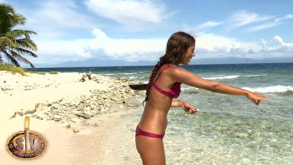 ¡Alerta, tiburón! La divertida escena en la que Lara quiere pescarlo y Melyssa defiende al animal