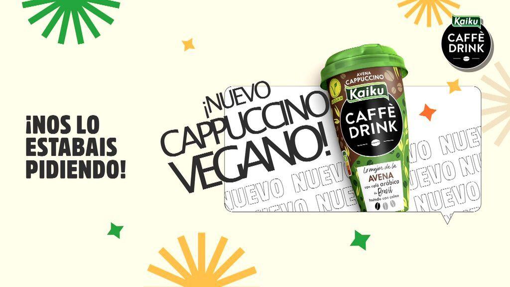 ¡Nuevo capuccino vegano!